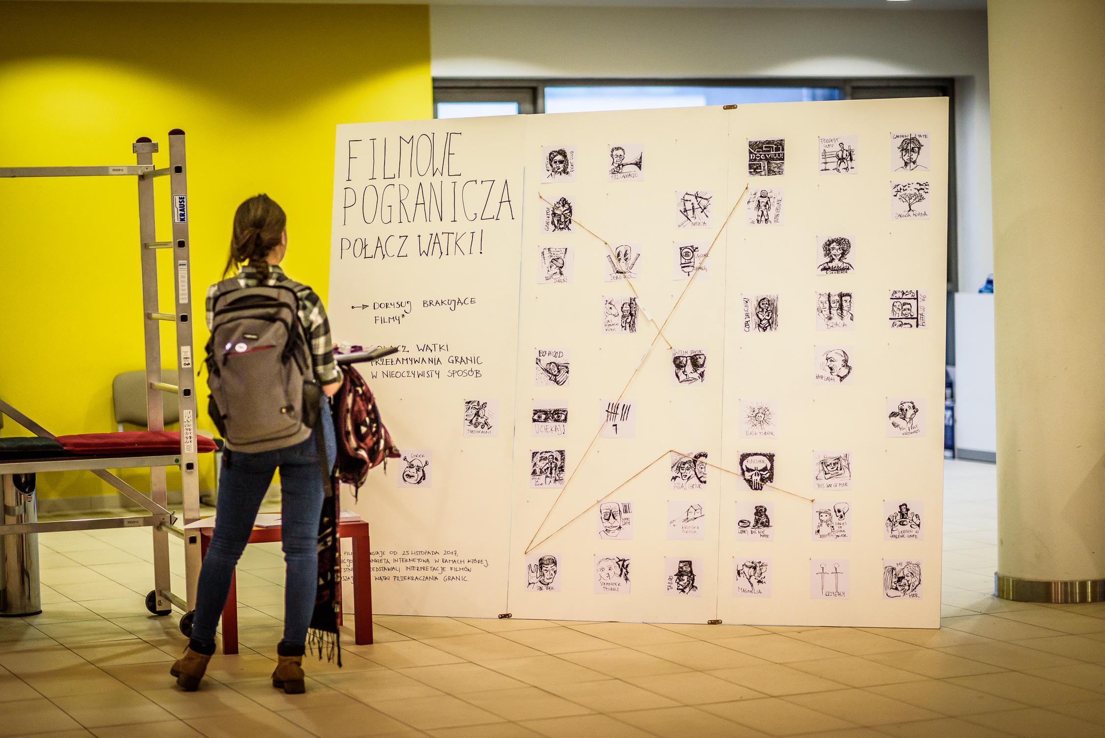 Instalacja Pogranicza Filmowe WUD Silesia 2017
