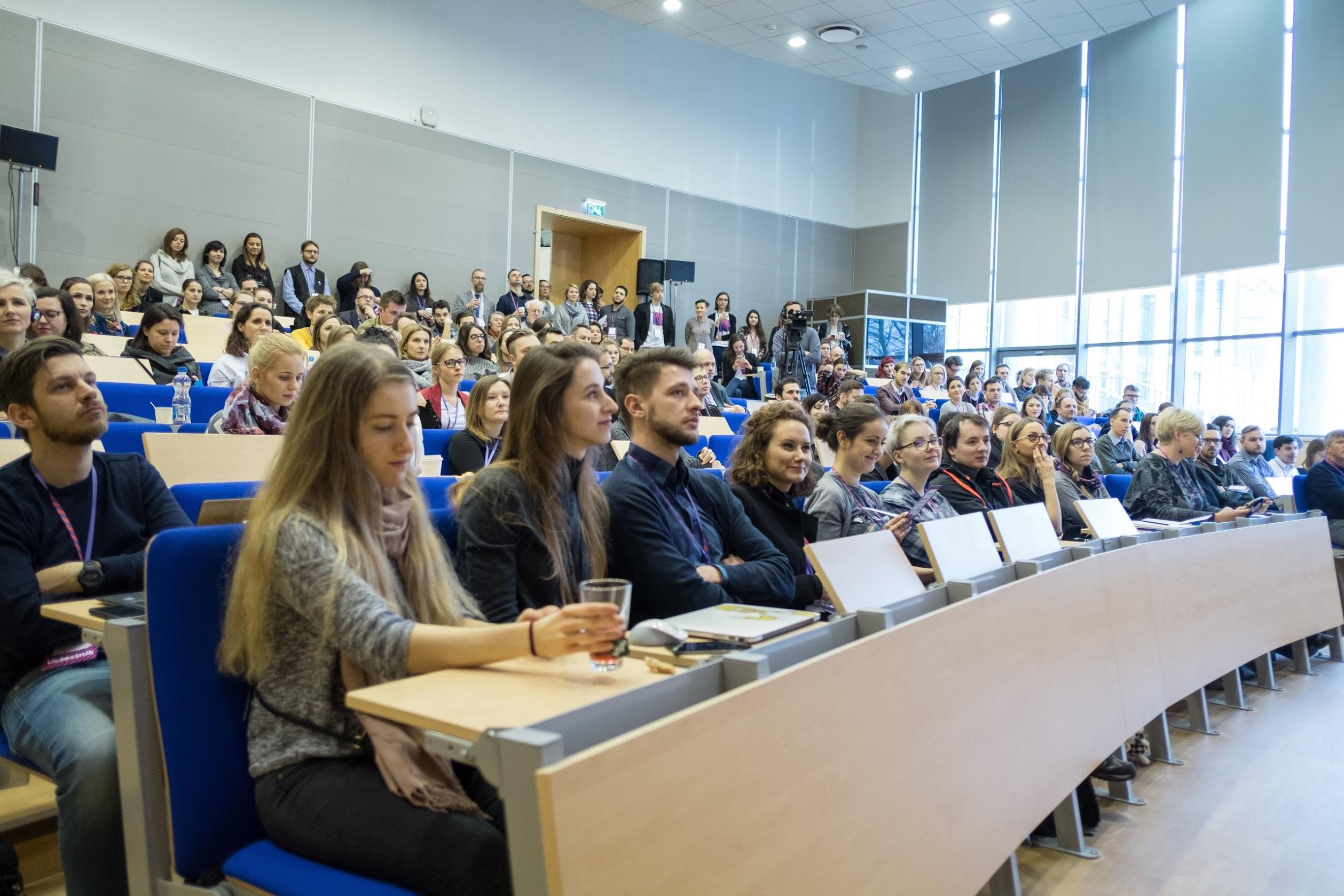 Aula - Uczestnicy konferencji